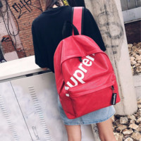 Supreme Stylish College Casual Back To School Comfort Patchwork Backpack