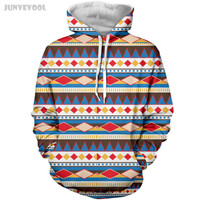 Hip Hop Hoodie Women's Coat Men's Sweatsuits Funny 3D Stripes Geometry Print Sweatshirt Hoodies Size S-XXXL Plus Size Tracksuits