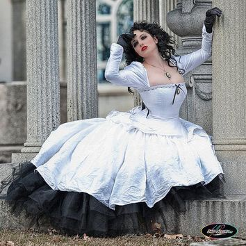 SAMPLE Sale Alternative Wedding Gown Gothic Steampunk Gothic Romance Dress