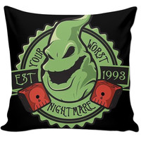 Nightmare Before Christmas Cartoon Oogie Pillow