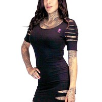 "SA ""Standard Issue"" Dress by Sullen Clothing (Black)"