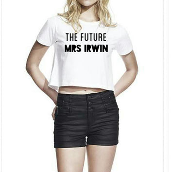 5sos Future Mrs Crop - All surnames available
