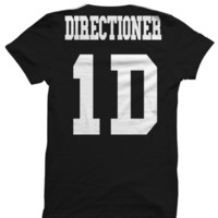 ONE DIRECTION T-SHIRT DIRECTIONER JERSEY SHIRT ONE DIRECTION CONCERT TICKETS 1 DIRECTION MERCH CELEBRITY SHIRTS GREAT BIRTHDAY GIFTS BIRTHDAY SHIRT from CELEBRITY COTTON