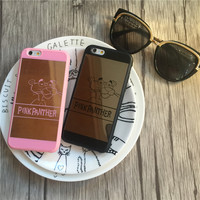 Mirror Case PINK PANTHER for iPhone