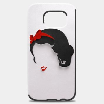 Snow White Princess Silhouette Samsung Galaxy S8 Plus Case | casescraft