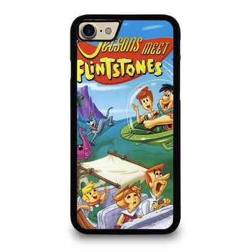 JETSONS MEET FLINTSTONES iPhone 7 Case Cover