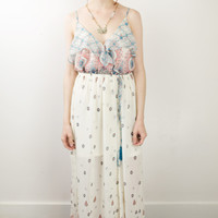 Devin Ruffled Maxi Dress