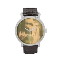 Ghost Elves Crescent Moon Wristwatch