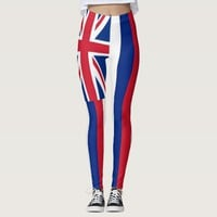 Leggings with flag of Hawaii State, USA