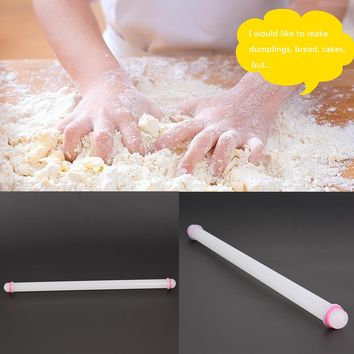 50cm Large Pastry Dough Roller Non-Stick Rolling Pin Fondant Cake Sugarcraft Cookie Baking Tools Cake Decoration