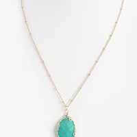 Turquoise Pebble Necklace