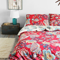 Magical Thinking Ruby Garden Sham - Set Of 2 - Urban Outfitters