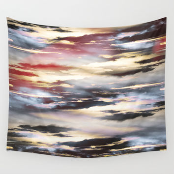 Combateur II Wall Tapestry by HappyMelvin Graphicus