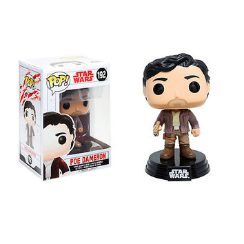 Funko Pop! Star Wars: The Last Jedi Poe Vinyl Bobble-Head