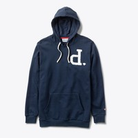 Un-Polo Pullover Hood in Navy