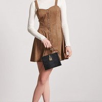 Contemporary Faux Suede Dress