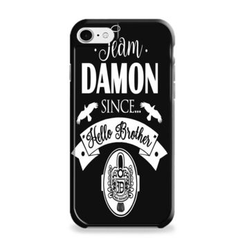 Team Damon Since Hello Brother The Vampire Diaries iPhone 6 | iPhone 6S Case