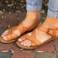 Homegrown Honey Sandals- Brown
