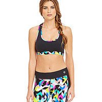 Trina Turk Recreation Kaleidoscope Sports Bra | Dillards.com