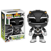 Funko POP! Television: Mighty Morphin Power Rangers Vinyl Figure - Black Ranger