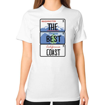 Fashions the best coast Unisex T-Shirt (on woman)