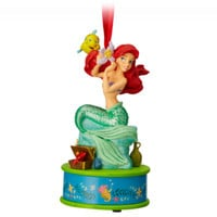 Disney Store Ariel Christmas Ornament, The Little Mermaid
