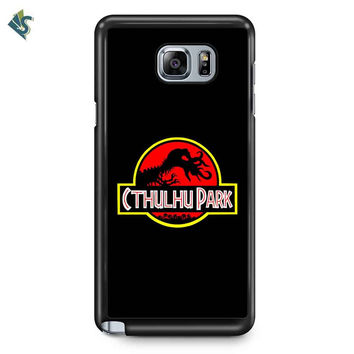 Jurassic Park Samsung Galaxy Note Case Galaxy Note 5 Case Galaxy Note Edge Case Galaxy Note 4 Case Galaxy Note 3 Case