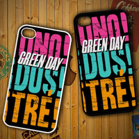 Green Day LOGO Y1135 LG G2 G3, Nexus 4 5, Xperia Z2, iPhone 4S 5S 5C 6 6 Plus, iPod 4 5 Case