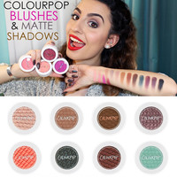 1PCs HOT New Makeup COLOURPOP Super Shock Durable Waterproof Monochromatic Pearlescent Eye Shadow Eyeshadow 20 Colors A0332