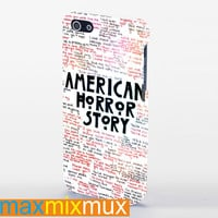 American Horror Story Quotes iPhone 4/4S, 5/5S, 5C Series Full Wrap Case