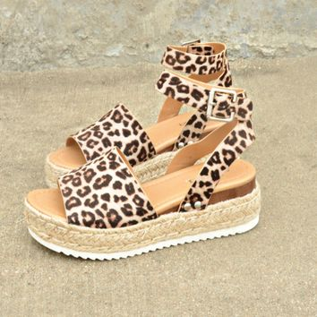 The Weekender Platforms - Leopard