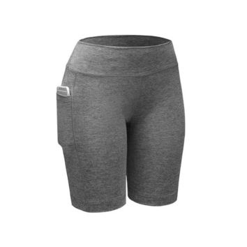Hot Shorts Women's Quick Dry  Compression  Casual Ladies Fitness Tight Skins Women Clothing S-2XLAT_43_3