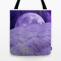 LAVENDER MOON Tote Bag by Catspaws | Society6