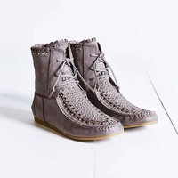 Sam Edelman Katelyn Studded Ankle Boot- Grey