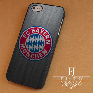 Bayern munchen fc iPhone 4 Case 5 Case 5c Case 6 Plus Case, Samsung Galaxy S3 S4 S5 Note 3 4 Case, iPod 4 5 Case, HtC One M7 M8 and Nexus Case