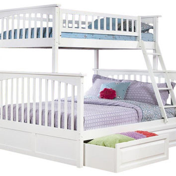 Cardiff Twin over Full Bunk Bed
