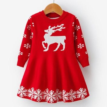 Toddler-Girls' Christmas Dresses For Holiday Party