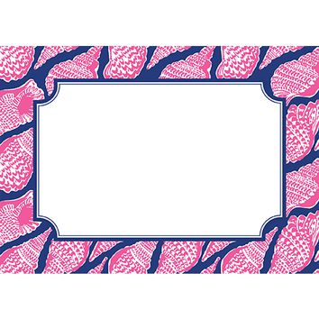 Cute as Shell Correspondence Cards by Lilly Pulitzer®
