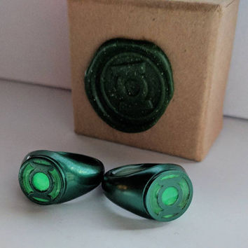 Injustice Emerald Green Lantern Ring Replica