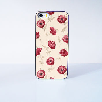 Rose Flower Plastic Case Cover for Apple iPhone 5s 5 6 Plus 6 4 4s  5c