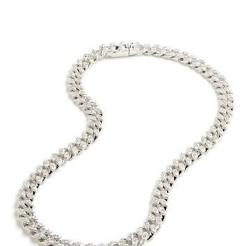 Nadri Crystal Link Necklace