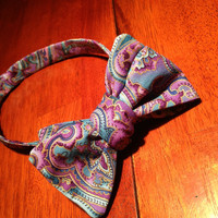 Custom and unique bow ties