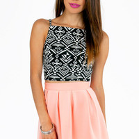 Crop Notch Top $23