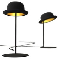 NEW! Jeeves Bowler Hat Table Lamp Table Lamps Lighting French Bedroom Company