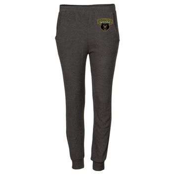 NCAA Baylor University Bears RYLBAY06 Women's Cozy Sponge Fleece Sweatpants