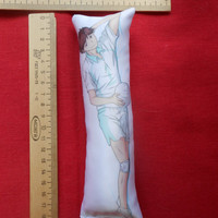 Anime: Haikyuu!!  Tooru Oikawa Mini Dakimakura 19x6 cm, 7,5x2,3 inch, Hugging Body Pillow for your Figurine N489-mini