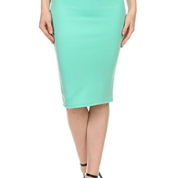 Womens Kerry - Basic Bodycon Pencil Skirt