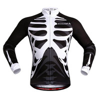 WOSAWE Men's Cycling Jersey Long Sleeve Mtb Bike Bicycle Outdoor Sports Jerseys Shirt Cycle Wear Ciclismo Cycling Clothing [8833578252]