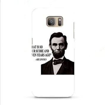 Abe Lincoln that is so Samsung Galaxy J7 2015 | J7 2016 | J7 2017 case