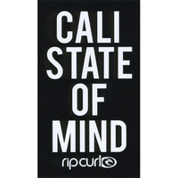 Rip Curl Cali State Sticker Black One Size For Women 25627310001